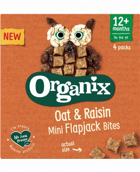 Oat & Raisin Mini Flapjack Bites 4 x 20g